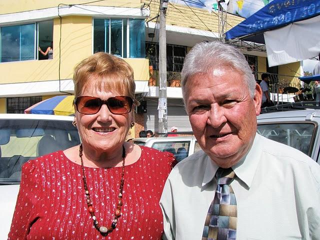 Los Reales, Eduardo Erazo y Consuelo Vargas